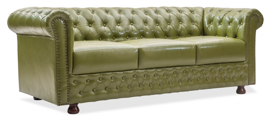 Buy Elton 3 Seater Leatherette Sofa Online From Durian