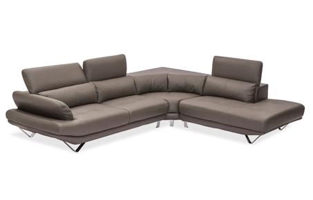 Omega L Shape Sofa 6 Seater Leather Sofa For Living Room