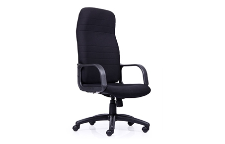 Buy Chaste High Back Fabric Chair Revolving Office Chair Online