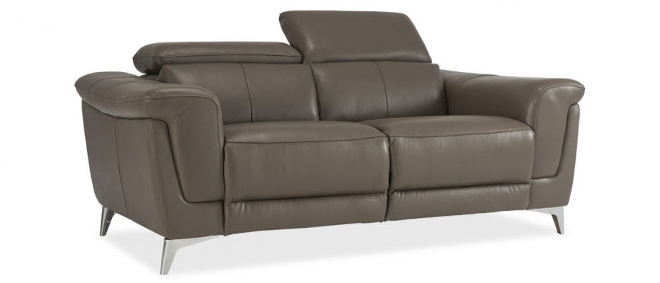 buy lopez 2 seater brown leather sofa living room sofa at durian