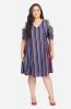 Stripe V-Neck Dress