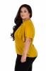 Women's Mustard Ruffled Top