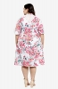 Floral A-line Casual Dress