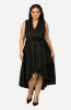 Cross front Fit & flare dress