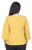 Flare Sleeve Cold Shoulder Top