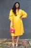 Off Shoulder Layer Sleeve Dress