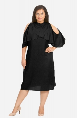 Cape A Line Dress