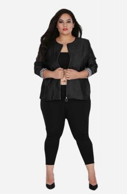 Solid Black Jacket