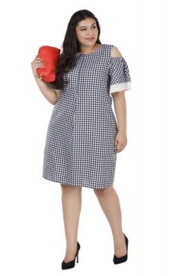 Gingham Layered Ruffle Dress