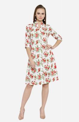 Afamado Floral Shirt Dress