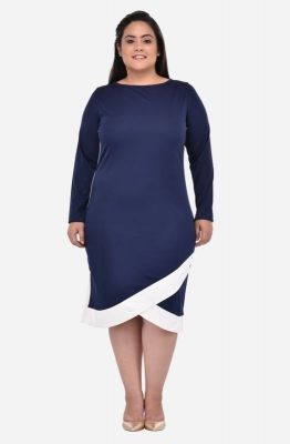 Bodycon Overlap Dress