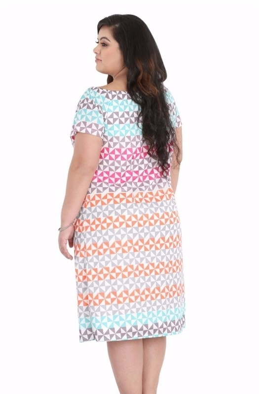 Printed Straight Fit Dress