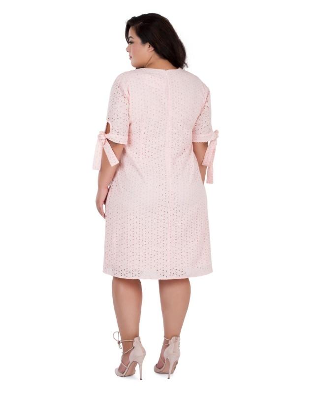 Schiffly Tie-Sleeve Dress