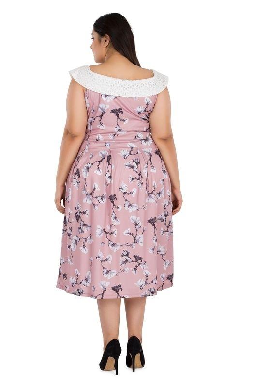 Schiffly Floral Dress
