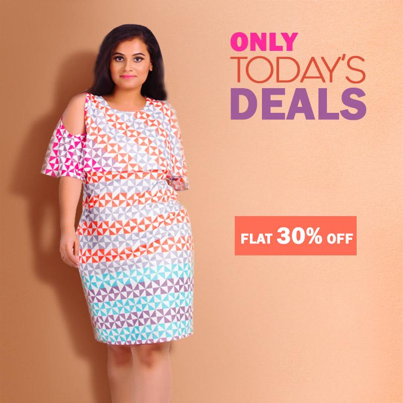 Buy Plus Size Dresses For Women Online In Indiaafamado