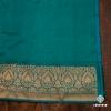 Green Handloom Banarasi Sari In Gorgeous Shades Of Green