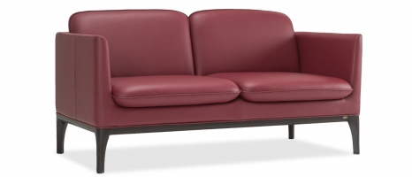 Clement 2 Seater Leatherette Sofa