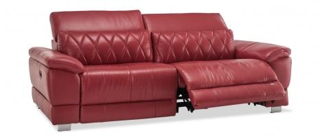Harris 3 Seater Leather Sofa