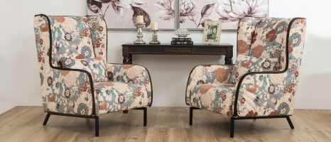 Brennan Matte Finish Lounge Chair