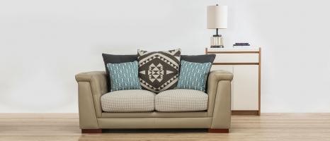 Margaret Vintage & Imperial 2 Seater Fabric Sofa
