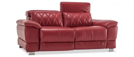Harris 2 Seater Leather Sofa