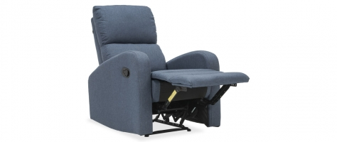 Jude 1 Seater Fabric Reclining Chair