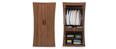 Willow 2 Door Engineered Wood Wardrobe