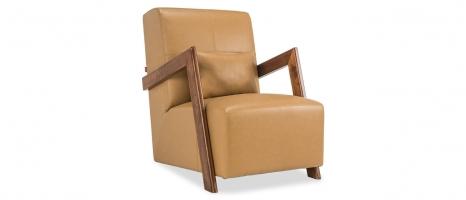 Rachel Leatherette Lounge Chair