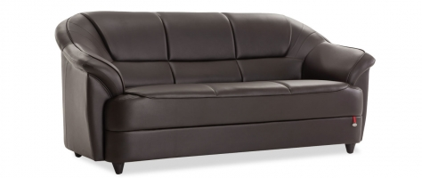 Berry 3 Seater Leatherette Sofa | Buy Living Room Sofa At Durian