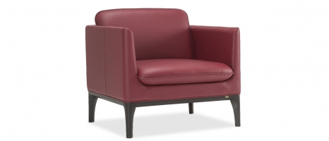 Clement 1 Seater Leatherette Sofa