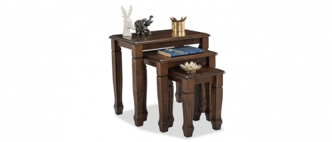 Norvin Solid Wood Nested Table Online