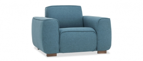 1 Seater Lorena Fabric Sofa