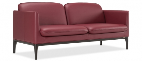 Clement 3 Seater Leatherette Sofa