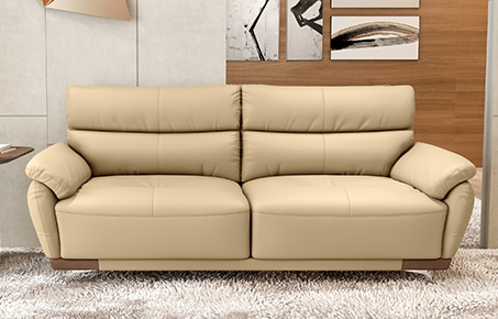 Perry 3 Seater Leather Sofa online