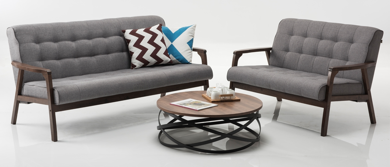 Buy Adrian 3 Seater Fabric Sofa Online From Durian
