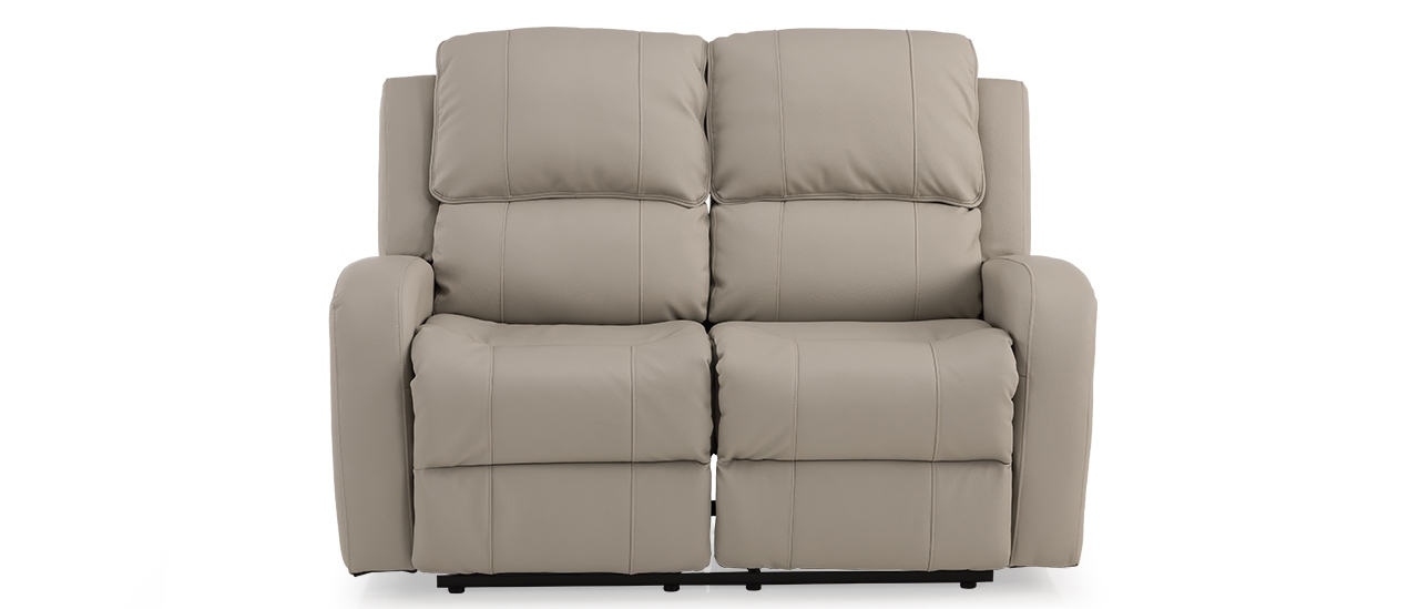 Fine Jameson Nappa Aire Manual Recliner 2 Seater Inzonedesignstudio Interior Chair Design Inzonedesignstudiocom