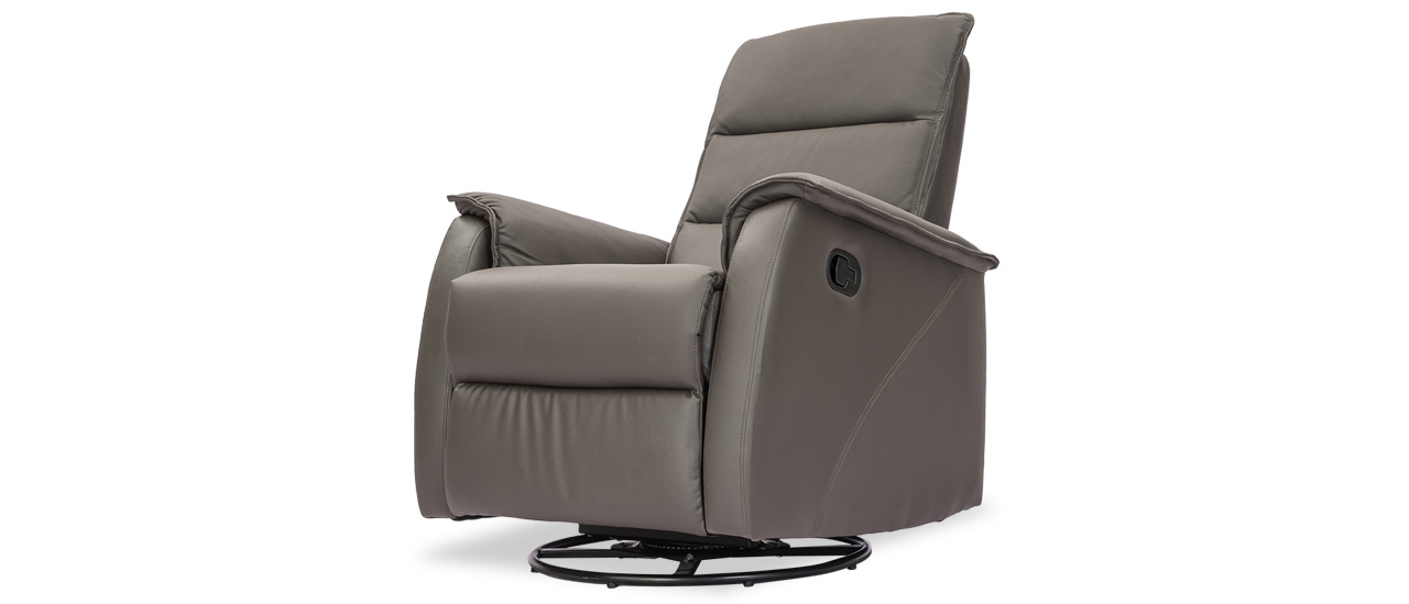 Siesta 1 Seater Leather Recliner From Durian