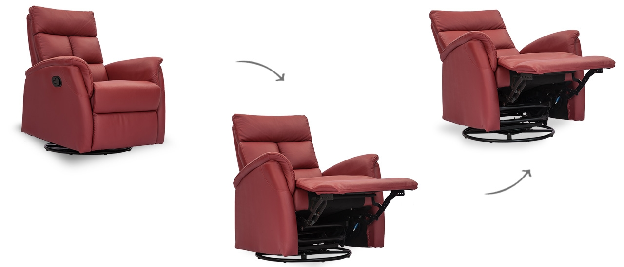 Wonder 1 Seater Leather Recliner