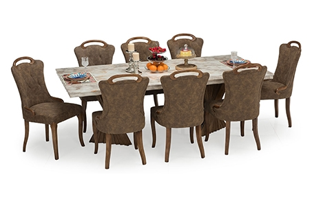 Elanor Marble Dining Set For 8 Dining Sets Online Durian