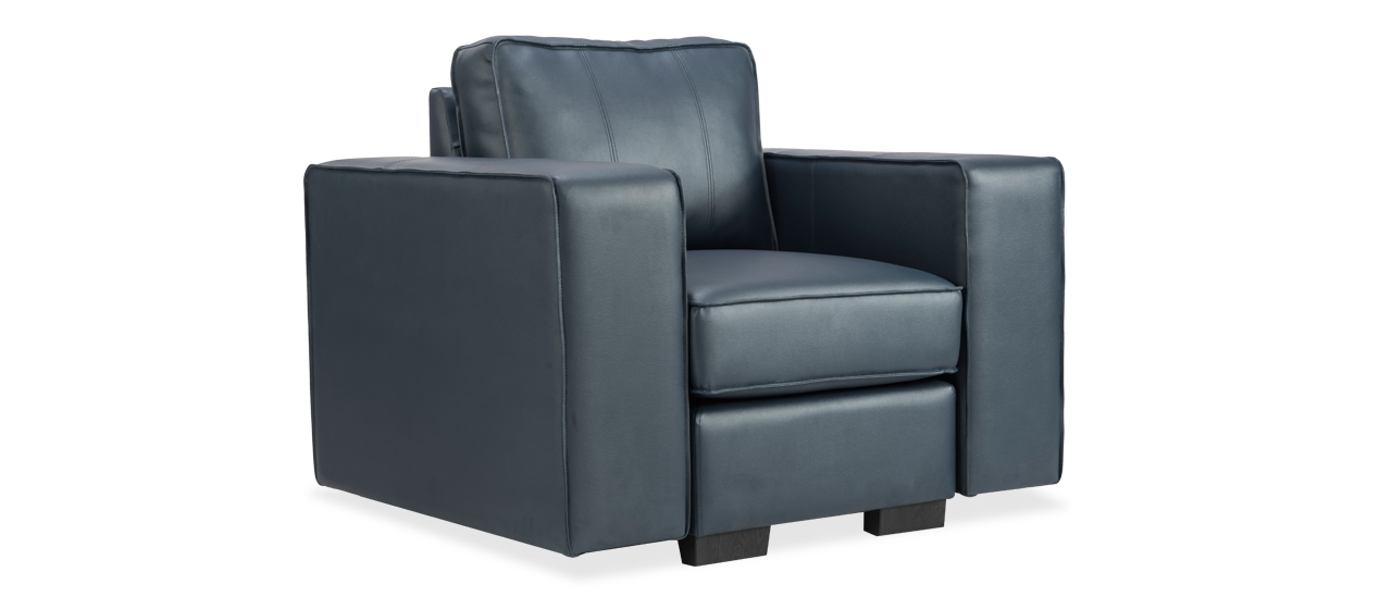Buy 1 Seater Marshall Leatherette Sofa Online From Durian