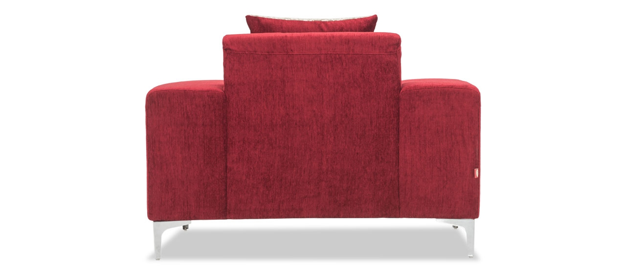 Darren Fabric Sofa, 1 Seater