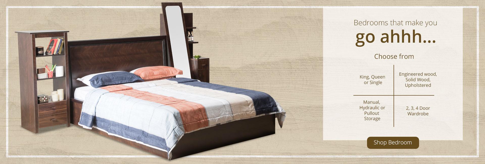 Shop Bedroom Furniture!