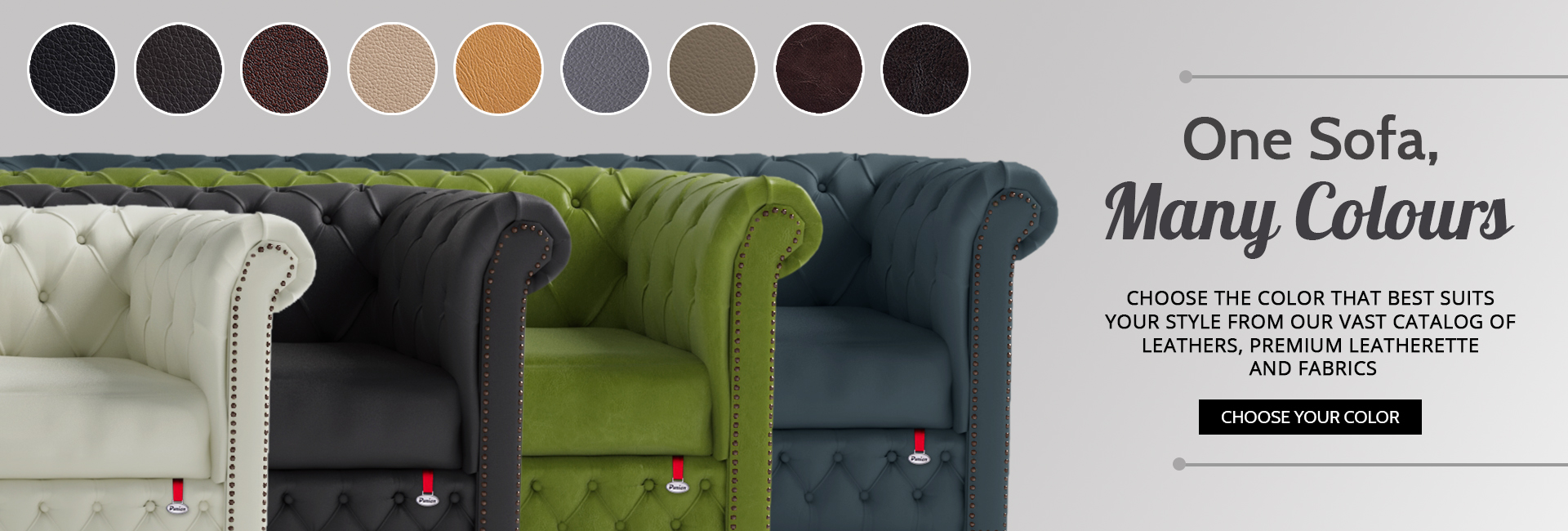 Now Customise Sofa In 18 More Colors !