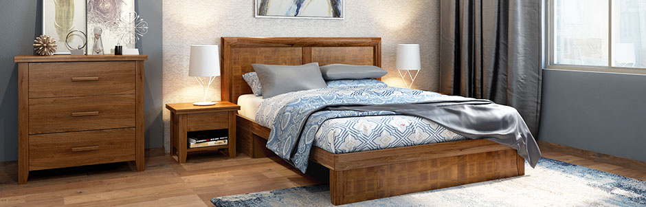 Bedroom Furniture Set Online Flat 35% Off | Buy Soild Wood Beds ...