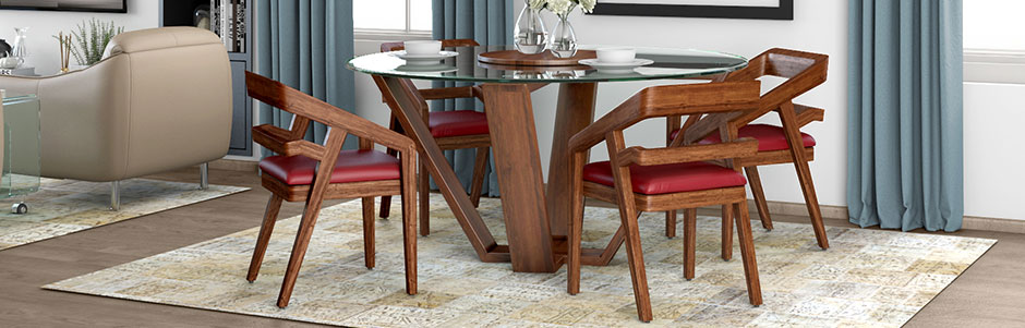 Buy Dining Room Furniture Online Get Upto 60 Off On Dining Sets Tables Storage Chairs