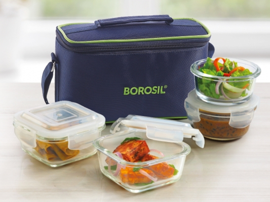 Universal Klip-N-Store Lunch Box, Set of 4