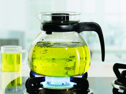 Carafe With Strainer In Lid 1.5L