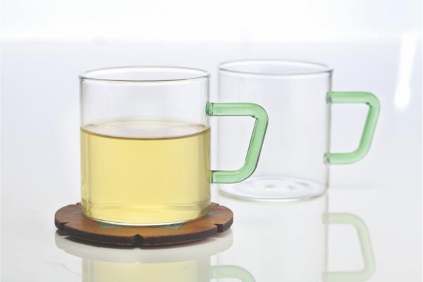 Vision Set of 6 Colour Mug, Green