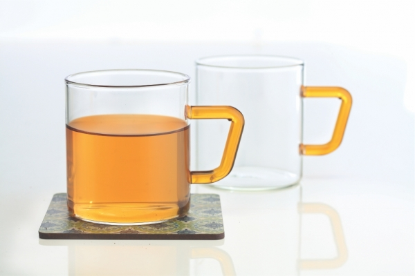 Vision Colour Mug Set of 6, Yellow