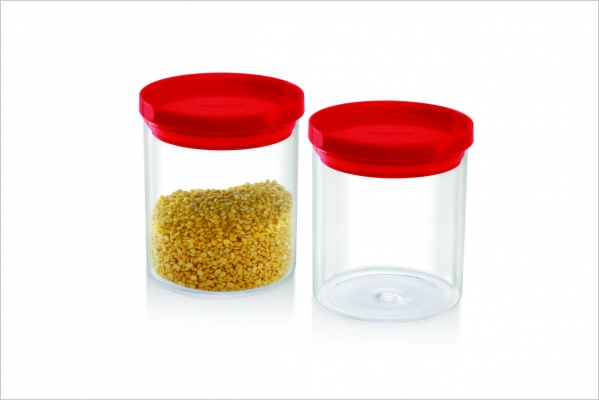 Stack N Store Set of 2, 600 ml